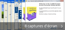 Montage de captures d'écran de Super Screen Recorder