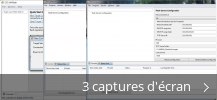 Montage de captures d'écran de CCS UniFlash