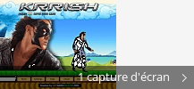 Montage de captures d'écran de Krrish - The Game