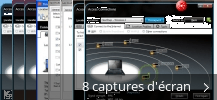 Montage de captures d'écran de ThinkVantage Access Connections