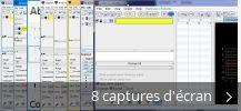Montage de captures d'écran de Graphing Calculator 3D
