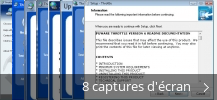 Montage de captures d'écran de Throttle