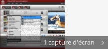 Montage de captures d'écran de MXF Video Converter