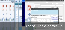 Montage de captures d'écran de PDF TO WORD