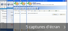 Montage de captures d'écran de SysTools Export Notes