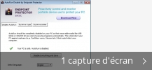 Montage de captures d'écran de AutoRun Disable by Endpoint Protector