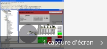 Montage de captures d'écran de FactoryTalkR View Machine Edition (CPR 9)