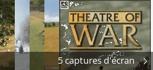 Montage de captures d'écran de Theatre Of War
