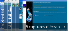 Montage de captures d'écran de Active WebCam