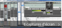 Montage de captures d'écran de Zulu DJ Software