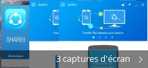 Montage de captures d'écran de SHAREit by Lenovo Group Limited