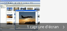 Montage de captures d'écran de Oz Insight All-In-One Newsreader