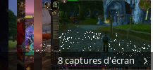 Montage de captures d'écran de World of Warcraft