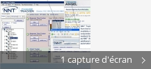 Montage de captures d'écran de NNT Remote Angel