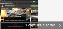 Montage de captures d'écran de My.com Game Center