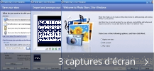 Montage de captures d'écran de Photo Story for Windows
