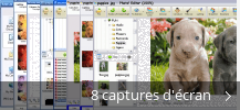 Montage de captures d'écran de Photo! Editor
