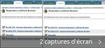 Montage de captures d'écran de Respondus LockDown Browser