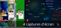 Montage de captures d'écran de Hoyle Card Games