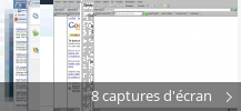 Montage de captures d'écran de Crawler Toolbar