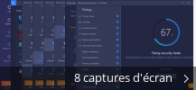 Montage de captures d'écran de Advanced SystemCare