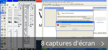 Montage de captures d'écran de Microsoft Visual Basic