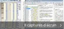 Montage de captures d'écran de The Holy Bible - Tamil-English