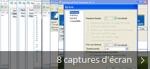 Montage de captures d'écran de Advanced Port Scanner