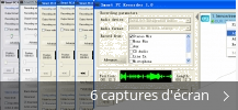 Montage de captures d'écran de Smart PC Recorder