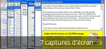 Montage de captures d'écran de Power BibleCD