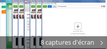 Montage de captures d'écran de Free YouTube to Mp3 Converter