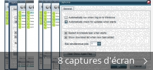 Montage de captures d'écran de MP3 Free Downloader