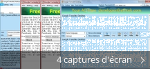 Montage de captures d'écran de Google Translate Desktop