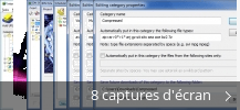 Montage de captures d'écran de Internet Download Manager